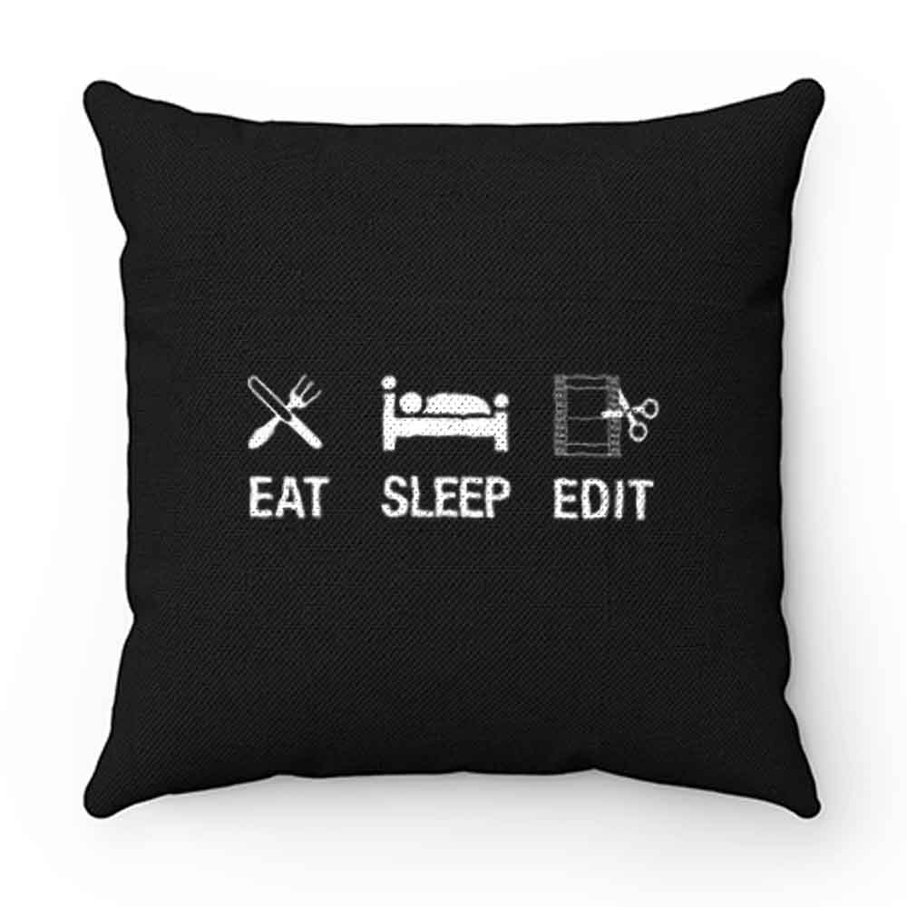 Director Eat Sleep Edit Pillow Case Cover