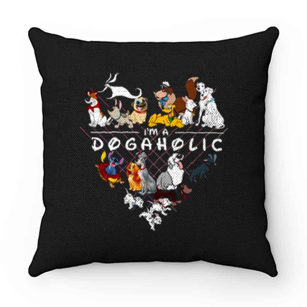 Disney Dogaholic Pillow Case Cover