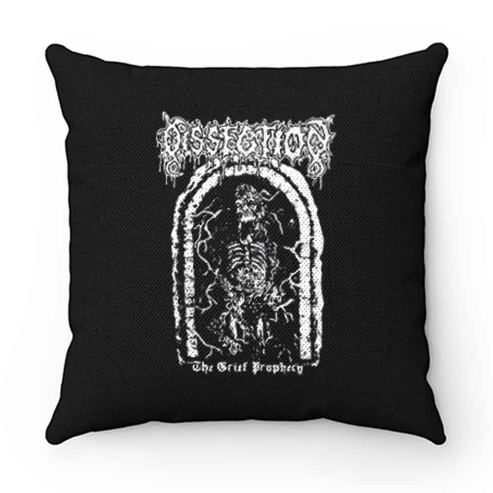 Dissection Balck Metal Pillow Case Cover