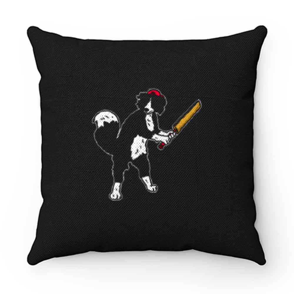 Dog Plays Cricket Pillow Case Cover