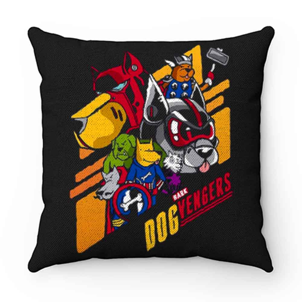 Dog Vengers Funny Dog Lovers Pillow Case Cover