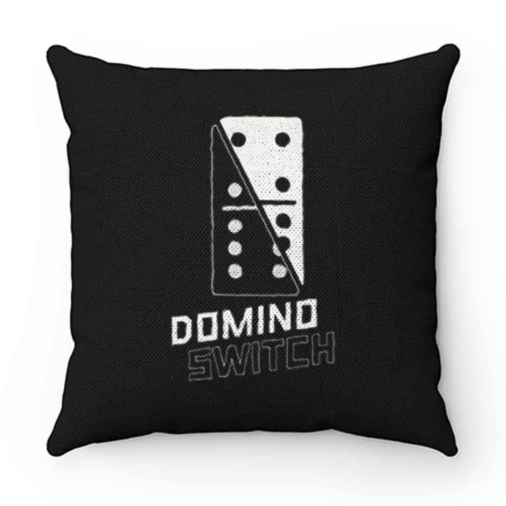 Domino Switch Dominoes Tiles Puzzler Game Pillow Case Cover