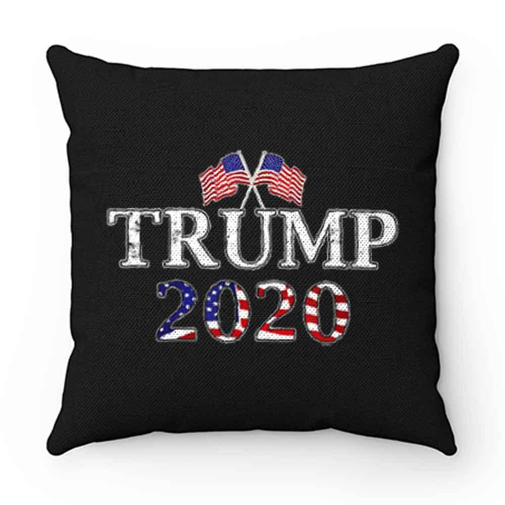 Donald Trump Election 2020 Flag Pillow Case Cover