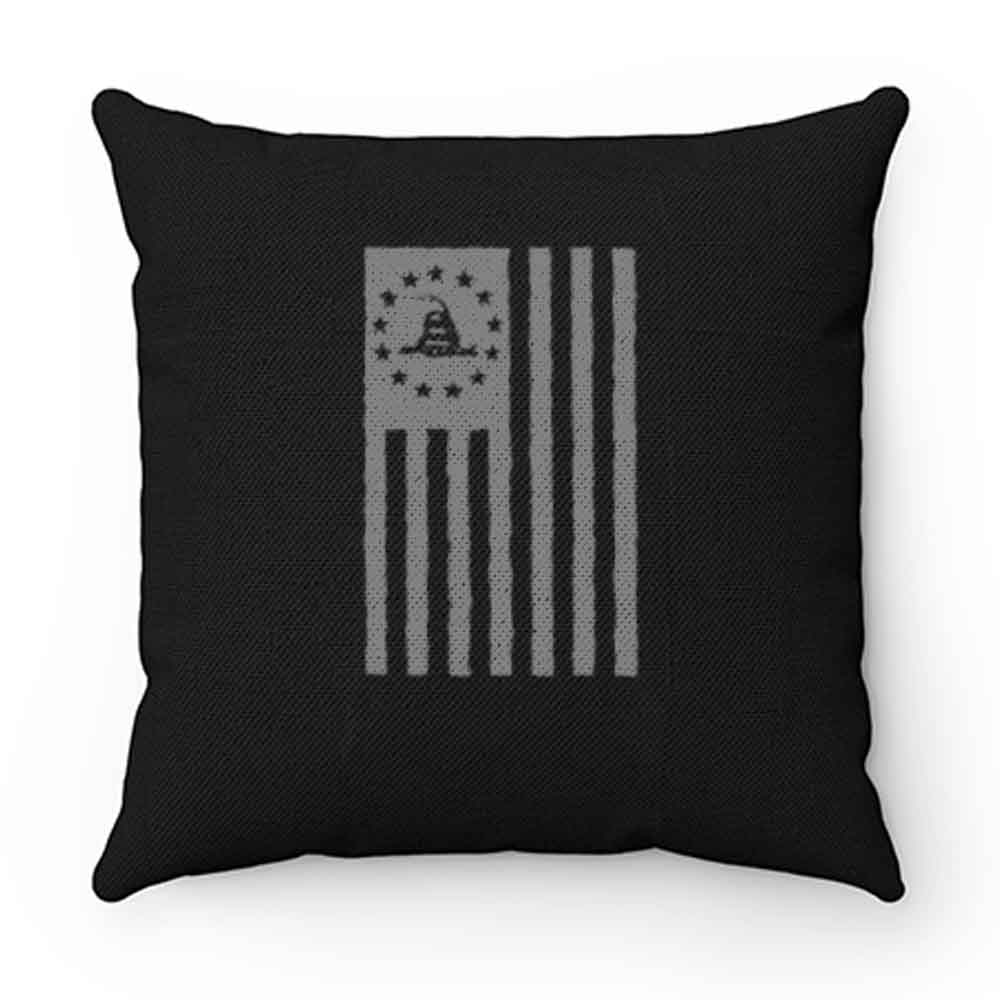 Dont Tread On Me Betsy Ross Flag Gadsden Pillow Case Cover