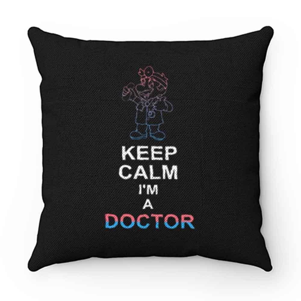 Dr Mario Keep Calm Pillow Case Cover