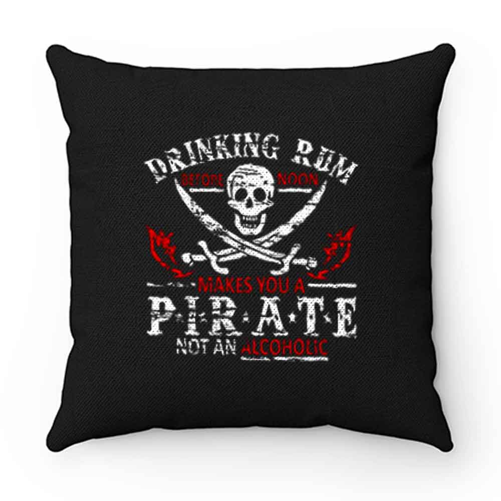 Drinking Rum Pirate Pillow Case Cover