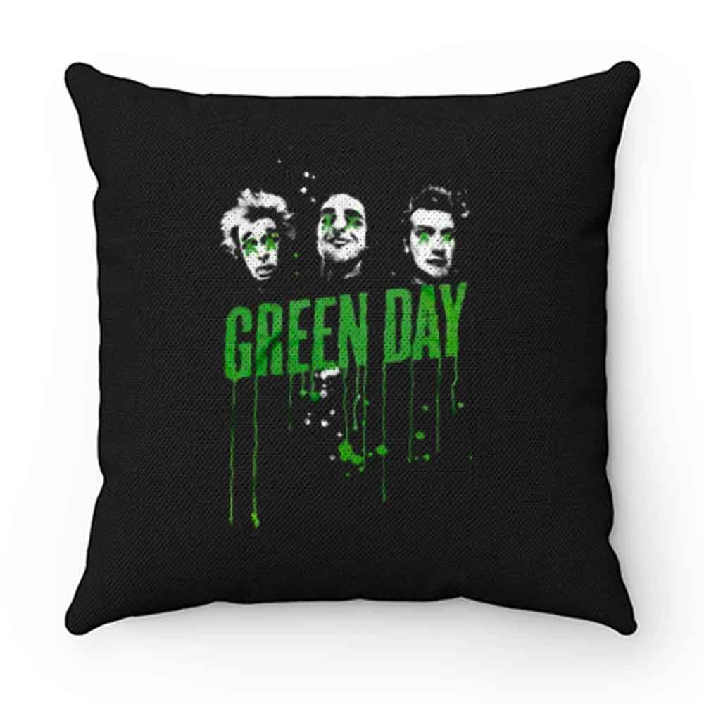 Drips Green Day Band Pillow Case Cover