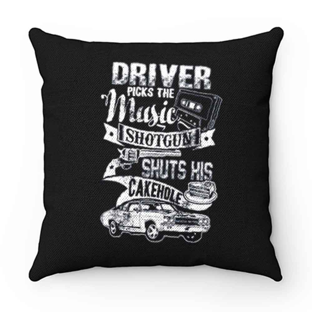 Driver Picks The Music Pillow Case Cover