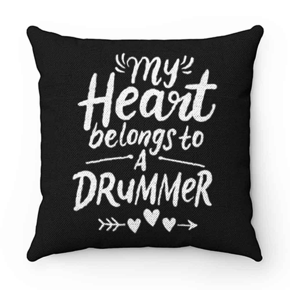 Drummer Girlfriend Pillow Case Cover