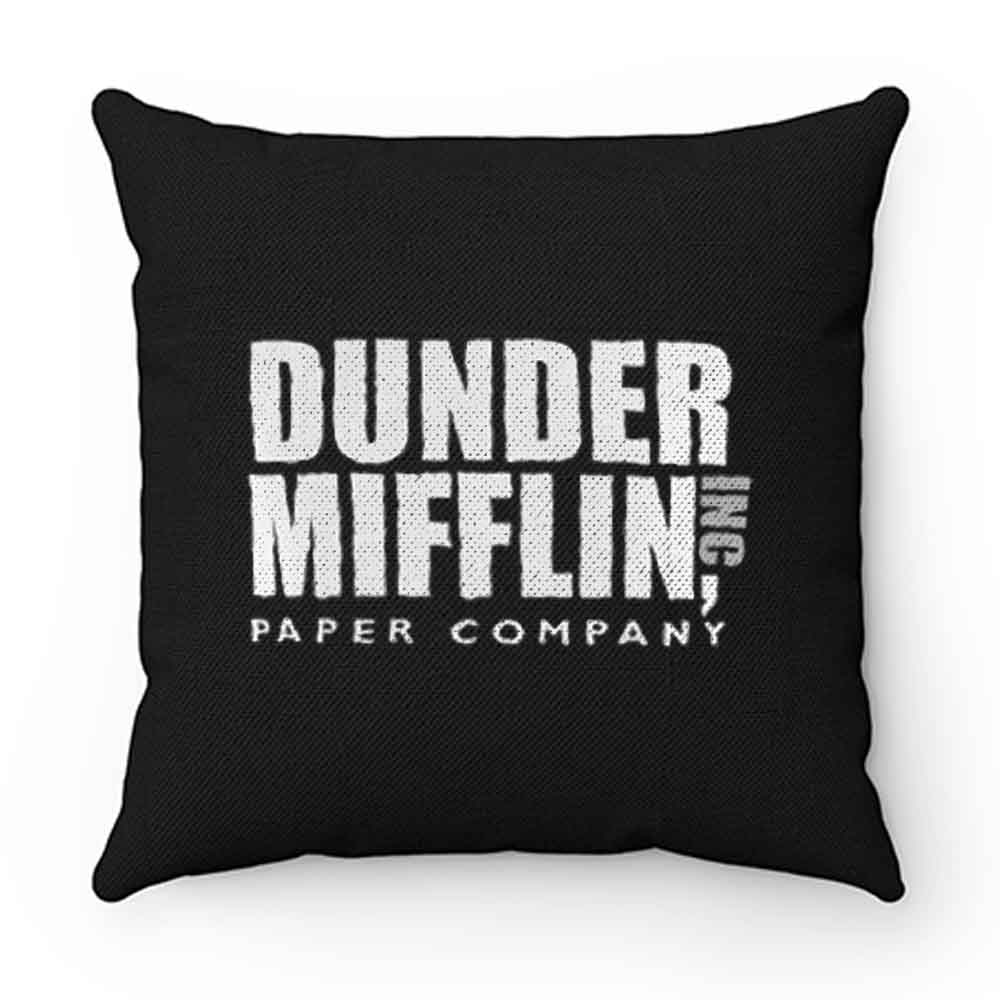 Dunder Mifflin Paper Company Inc from The Office Pillow Case Cover