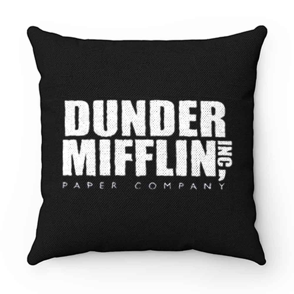 Dunder Mifflin Paper Inc Officetv Show Pillow Case Cover