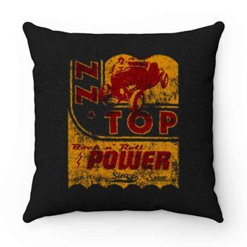 Zz Top Oil Power Band Pillow Case Cover