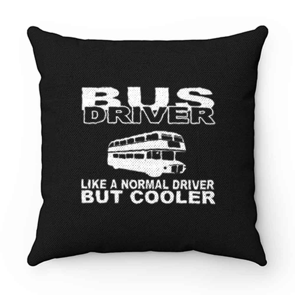 bus driver Pillow Case Cover